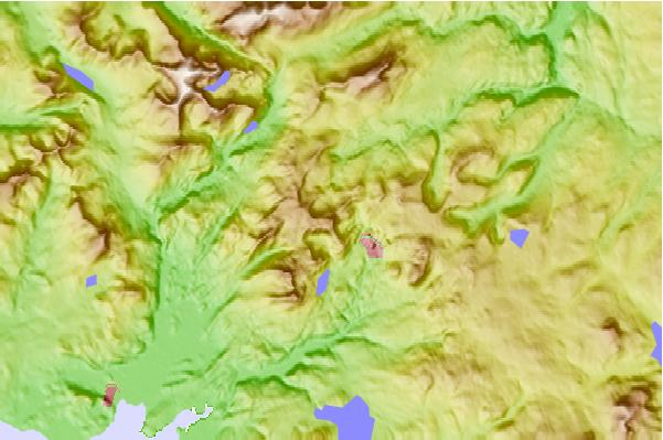 Surf breaks located close to Allt-fawr