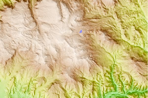 Surf breaks located close to Crater Peak (Colorado)