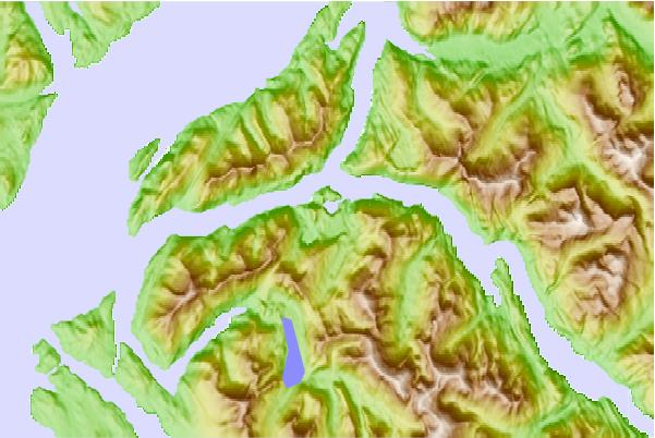 Surf breaks located close to Crow Lagoon