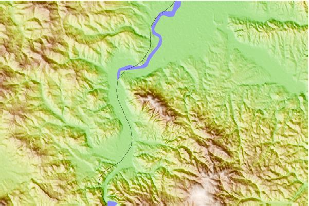 gucevo mapa Gučevo Mountain Information gucevo mapa