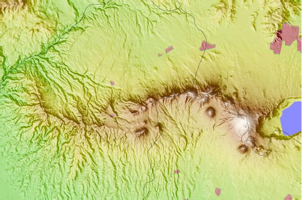 Surf breaks located close to Laguna Verde