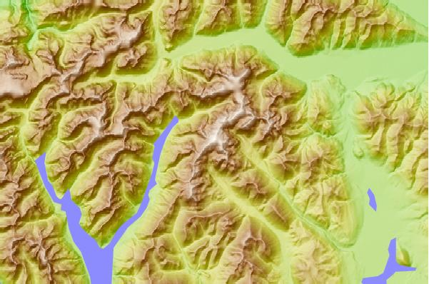 Surf breaks located close to Mount Arrowsmith