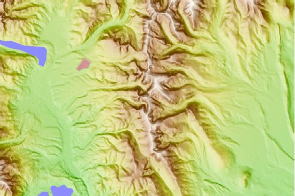 Surf breaks located close to Mount Sheridan