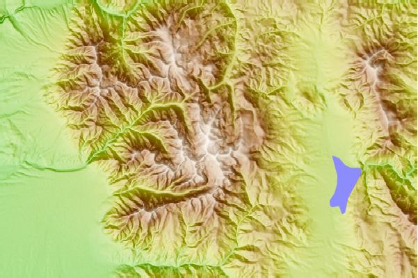 Surf breaks located close to Mount Walter (New Mexico)