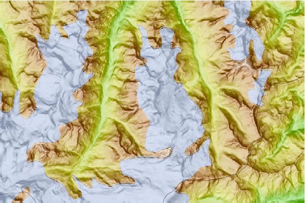 taschhorn mountaine how tall