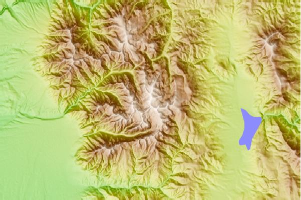 Surf breaks located close to Wheeler Peak