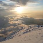 یک روز برفی در مسیر قله توچال, Tochal