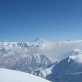 نمای قله دماوند از قله توچال, Tochal