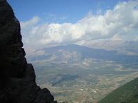 The view on Stymfalia valley from Oligyrtos  photo