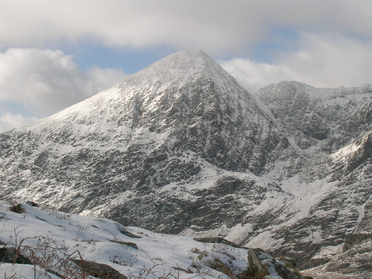winter conditions in the Reeks, Carrauntoohil