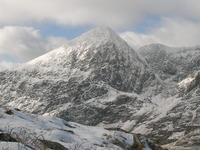 winter conditions in the Reeks, Carrauntoohil photo