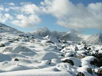 winter on the Reeks, Carrauntoohil photo