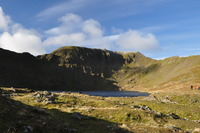 Red Tarn & Helvellyn, Dodd (Lake District) photo