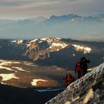 Vn Domuyo a los 3700 mts, Volcan Domuyo