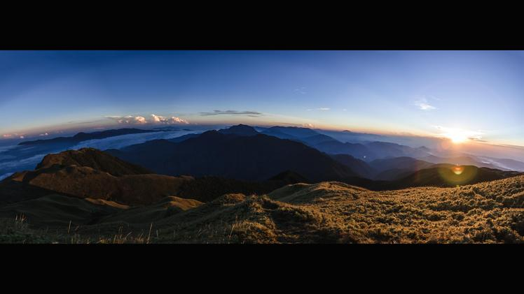 View from the summit of Mt. Pulag, Mount Pulag