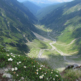 Vistea valley from close to the peak, Moldoveanu