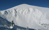 Hoverla in winter photo