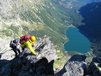 Veľký Mengusovský štít  summit ridge, Mięguszowiecki Szczyt Wielki photo