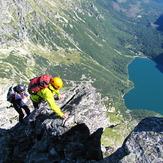 Veľký Mengusovský štít  summit ridge, Mięguszowiecki Szczyt Wielki