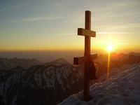 Cross on the summit, Krivan photo