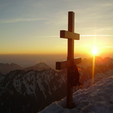 Cross on the summit, Krivan