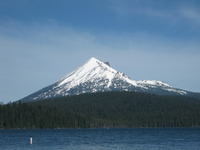 Mt. McLoughlin, Mount McLoughlin photo