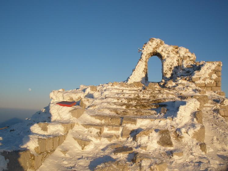 Šiljak, 1566m in the winter, Šiljak Rtanj