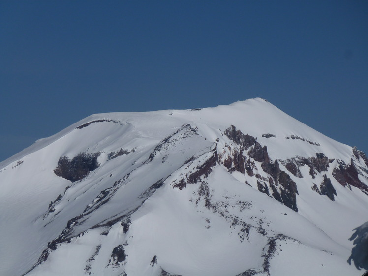 South Sister Crater Rim..., South Sister Volcano