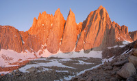 Mount Whitney and the Needles photo