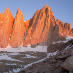 Mount Whitney and the Needles