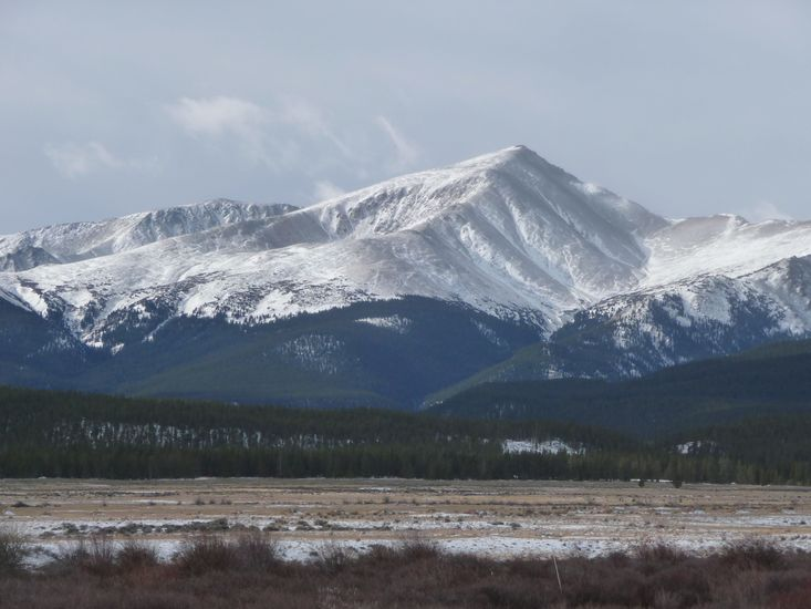 Mount Elbert on north korea map location