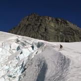 Upper Curtis Glacier and Mount Shuksan