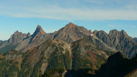 Border Peaks, Larrabee and The Pleiades, Mount Larrabee photo