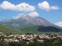 Mount Didi Abuli, the highest point of Abul-Samsari mountain Range photo