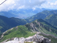View of trail up to Augstenberg, Augstenberg (Liechtenstein) photo