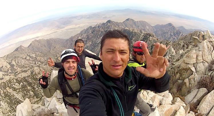 On Top of the Peak Nov 12 2012, Picacho del Diablo