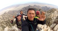 On Top of the Peak Nov 12 2012, Picacho del Diablo photo