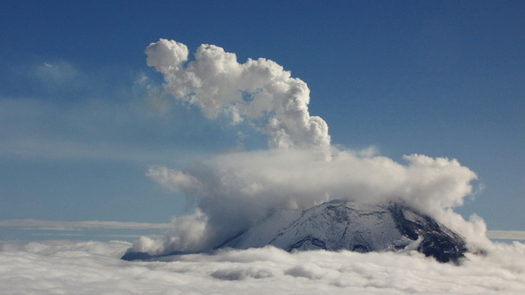 Popocatepetl weather