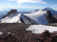 view from the summit, Iztaccihuatl photo