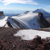 view from the summit, Iztaccihuatl