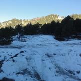 Stunning morning in La Calle, Nevado de Colima
