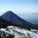 Snow and amazing view, Nevado de Colima