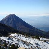 Snow and amazing view, Nevado de Colima