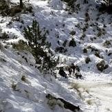 Making a snowman, Nevado de Colima