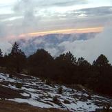 Sunrise, Nevado de Colima
