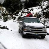 The very cold snowy mountain, Nevado de Colima
