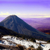 Actived Volcano near to Nevado de Colima