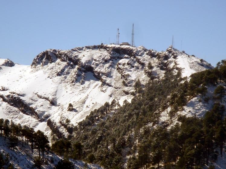 Top of Nevado, Nevado de Colima