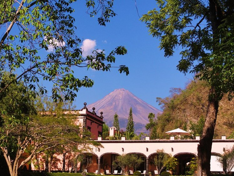 Nevado De Colima Mountain Photo By Rosa Elvira Corona