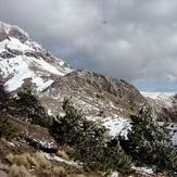 Running out of snow, Nevado de Colima